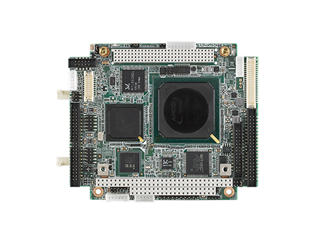 AMD LX800 PC/104-Plus Embedded Single Board Computer with Extreme Temp, VGA, LVDS, TTL, Ethernet, USB, COM, CF